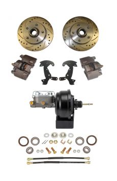 1956 Cadillac Front Disc Brake Conversion Kit With Booster and Master Cylinder NEW
