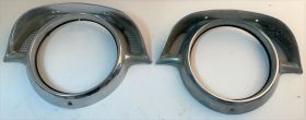 1956 Cadillac Headlight Bezels With Incerts Used Free Shipping In The USA