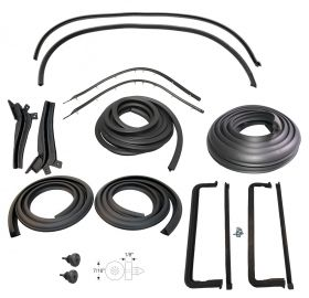 1957 1958 Cadillac Eldorado Brougham Advanced Weatherstrip Kit (17 Pieces) REPRODUCTION Free Shipping In The USA