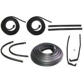 1957 1958 Cadillac Convertible Models Basic Rubber Weatherstrip Kit (9 Pieces) REPRODUCTION Free Shipping In The USA