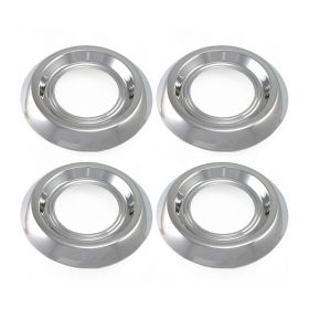 1957 1958 Cadillac (See Details) Sabre Wheel Chrome Hub Cap Center Set (4 Pieces) REPRODUCTION Free Shipping In The USA