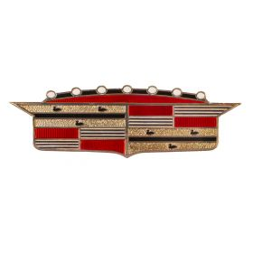 1957 Cadillac Trunk Crest REPRODUCTION Free Shipping In The USA