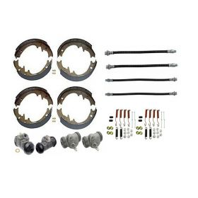 1957 Cadillac (See Details) Deluxe Drum Brake Kit (64 Pieces) REPRODUCTION Free Shipping In The USA