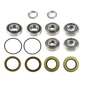1957 Cadillac (EXCEPT Commercial Chassis) Wheel Bearing and Seal Kit (14 Pieces) REPRODUCTION Free Shipping In The USA