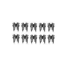 Cadillac Emblem And Script 1/8 Inch Stud Barrel Nut Set (For 3/16 Inch Holes) (10 Pieces) REPRODUCTION
