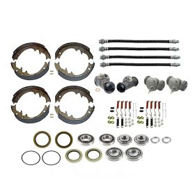 1958 1959 Cadillac (EXCEPT Series 75 Limousine and Commercial Chassis) Master Drum Brake Kit With Bearings and Seals (78 Pieces) REPRODUCTION Free Shipping In The USA