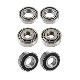 1958 1959 Cadillac Commercial Chassis Wheel Bearing Kit (6 Pieces) REPRODUCTION Free Shipping In The USA