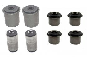 1958 1959 1960 Cadillac (EXCEPT Commercial Chassis) Rear Bushings Set (8 Pieces) REPRODUCTION Free Shipping In The USA