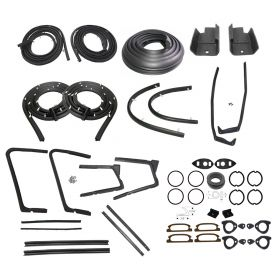 1958 Cadillac Fleetwood Series 60 Special Deluxe Rubber Kit (161 Pieces) REPRODUCTION Free Shipping In The USA