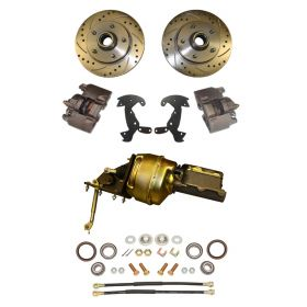 1958 Cadillac Front Disc Brake Conversion Kit With Booster and Master Cylinder NEW
