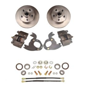 1961 1962 1963 1964 1965 1966 Cadillac 1967 1968 (EXCEPT Eldorado) Basic Rotor Front Disc Brake Conversion Kit NEW