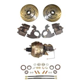 1961 1962 1963 1964 1965 1966 Cadillac 1967 1968 (EXCEPT Eldorado) Front Disc Brake Conversion Kit With Booster and Master Cylinder NEW