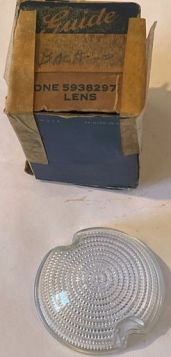 1950 Cadillac Back Up Lens (Except CC Comercial Chassis) New Old Stock Freer Shipping In The USA