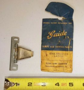 1954 1955 1956 Cadillac Fuel Door (Left Side) Latch /Spring Assembly New Old Stock Free Shipping In The USA