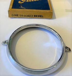 1960 Cadillac Tail Light Chrome Round Bezel New Old Stock Free Shipping In The USA