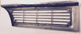 1965 Cadillac Left Fender Side Marker Turn Signal Lens Chrome Bezel USED Free Shipping In The USA