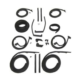 1959 1960 Cadillac 4-Door 6-Window (See Details) Advanced Rubber Weatherstrip Kit (18 Pieces) REPRODUCTION Free Shipping In The USA