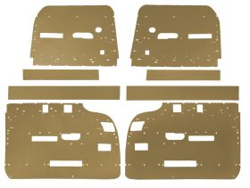 1959 1960 Cadillac 4-Door 6-Window Hardtop Interior Door Panel Backer Boards 8 Pieces REPRODUCTION