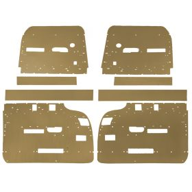 1959 1960 Cadillac 4-Door 6-Window Hardtop Interior Door Panel Backer Boards (8 Pieces) REPRODUCTION