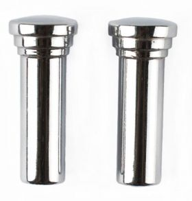 1959 1960 Cadillac Chrome Metal Door Lock Knobs 1 Pair REPRODUCTION Free Shipping In The USA