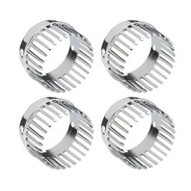 1959 Cadillac Tail Light Lens Bezel Chrome Fingers Set (4 Pieces) REPRODUCTION Free Shipping In The USA