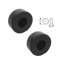 1940 1941 1942 1946 1947 1948 1949 1950 Cadillac Convertible Side Window Lift Limit Rubber Caps 1 Pair REPRODUCTION