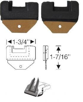 1961 1962 1963 1964 Cadillac Convertible Lock Pillar Filler Seals 1 Pair REPRODUCTION Free Shipping In The USA