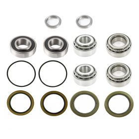 1967 1968 Cadillac (EXCEPT Eldorado and Commercial Chassis) Wheel Bearing and Seal Kit for Drum Brakes (14 Pieces) REPRODUCTION Free Shipping In The USA