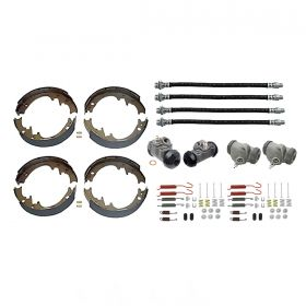 1960 Cadillac (EXCEPT Commercial Chassis) Deluxe Drum Brake Kit (68 Pieces) REPRODUCTION Free Shipping In The USA
