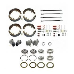 1960 Cadillac (EXCEPT Commercial Chassis) Master Drum Brake Kit With Bearings and Seals (82 Pieces) REPRODUCTION Free Shipping In The USA