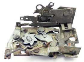1961 1962 Cadillac Coupes Left Front Door Lock Assembly USED Free Shipping In The USA