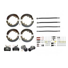 1961 Cadillac (EXCEPT Commercial Chassis) Deluxe Drum Brake Kit (78 Pieces) REPRODUCTION Free Shipping In The USA