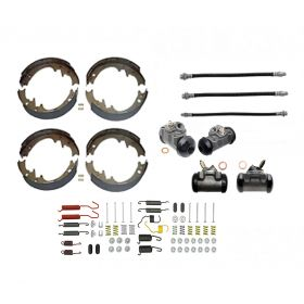 1965 1966 Cadillac (EXCEPT Series 75 Limousine and Commercial Chassis) Deluxe Drum Brake Kit (78 Pieces) REPRODUCTION Free Shipping In The USA