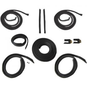1961 Cadillac 2-Door Hardtop Advanced Rubber Weatherstrip Kit (10 Pieces) REPRODUCTION Free Shipping In The USA