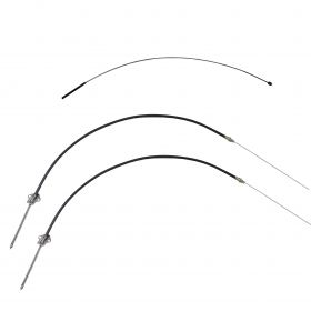 1961 Cadillac Series 60 and Series 62 Emergency Brake Cable Set 3 Pieces REPRODUCTION Free Shipping In The USA