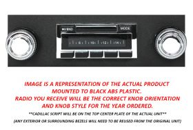 1958 1959 1960 Cadillac Classic Style Radio With Digital Display NEW Free Shipping In The USA