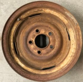 1961 1962 1963 1964 Cadillac Steel Wheel Rim USED