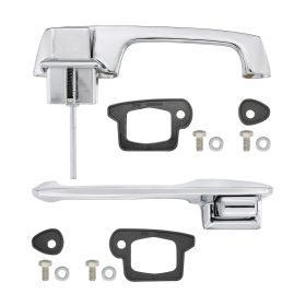 1963 1964 1965 1966 Cadillac (See Details) Exterior Door Handles 1 Pair REPRODUCTION Free Shipping In The USA