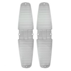 1964 1965 Cadillac (See Details) Back Up Light Lenses 1 Pair REPRODUCTION Free Shipping In The USA