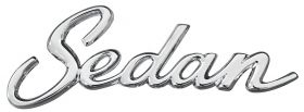 1965 1966 1967 1968 1969 1970 Cadillac Sedan Quarter Panel Script REPRODUCTION Free Shipping In The USA