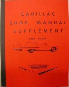 1958-cadillac-shop-manual-supplement-reproduction