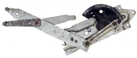 1967 1968 Cadillac (See Details) Rear Door Window Regulator Left Driver Side USED Free Shipping In The USA