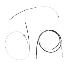 1967 1968 Cadillac Fleetwood Series 60 Special and Fleetwood Brougham Emergency Brake Cable Set 3 Piece REPRODUCTION Free Shipping In The USA