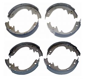 1967 1968 Cadillac Eldorado Front and Rear Brake Shoe Set (8 Pieces) REPRODUCTION Free Shipping In The USA