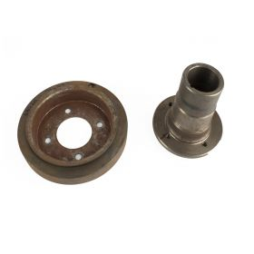 1968 1969 1971 1972 1973 Cadillac (See Details) Harmonic Balancer With Hub NOS Free Shipping In The USA