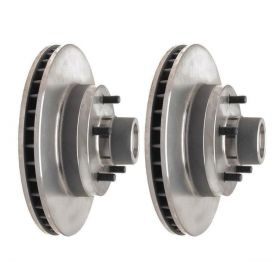 1968 1969 1970 1971 1972 Cadillac (See Details) Front Brake Rotor And Hub Assemblies 1 Pair REPRODUCTION