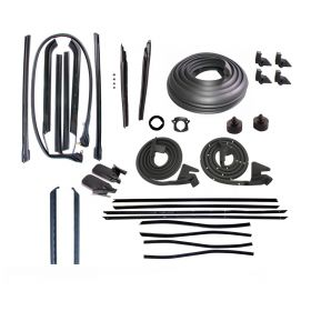 1969 Cadillac Deville Convertible Advanced Rubber Weatherstrip Kit (32 Pieces) REPRODUCTION Free Shipping In The USA