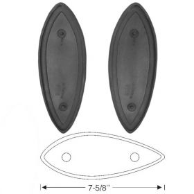 1936 Cadillac (See Details) Rubber Headlight Mounting Pads 1 Pair REPRODUCTION Free Shipping In The USA