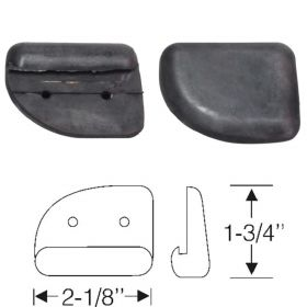 1934 1935 1936 1937 Cadillac (See Details) Rubber Hood Corner Pad 1 Pair REPRODUCTION Free Shipping In The USA