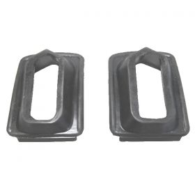 1936 1937 Cadillac (See Details) Rear Bumper Rubber Grommets 1 Pair REPRODUCTION Free Shipping In The USA